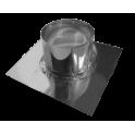 Solin Inox plomb pour toit terrasse - Diamètre: 250