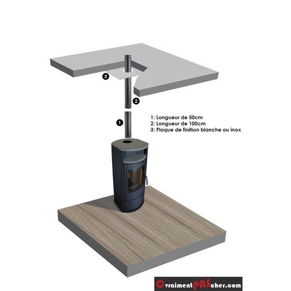 plaque de finition plafond blanche 500x300mm 150. Black Bedroom Furniture Sets. Home Design Ideas