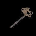 Résistance/ bougie allumage - Puissance 300W L:155 Ø:10 - Edilkamin