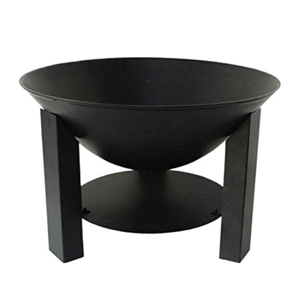 brasero rond noir - diam u00e8tre 60 cm
