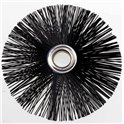 Hérisson nylon dur - Diamètre : 20 cm