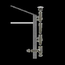 Kit création conduit isolé Ø150mm extérieur - 3m