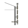 Kit complet pour conduit isolé double paroi inox - Diamètre: 150 mm