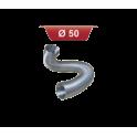 Gaine aluminium - Diamètre: 50 mm - vendue au mètre