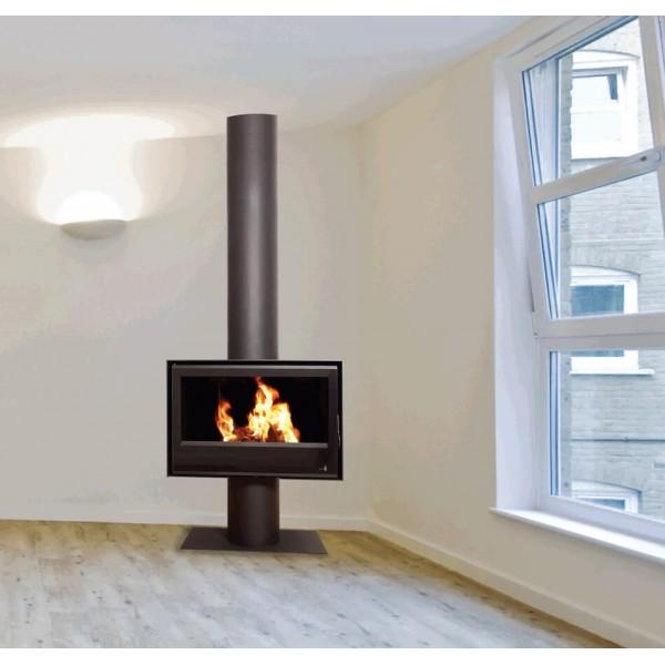 po le bois termofoc sl280 avec pied. Black Bedroom Furniture Sets. Home Design Ideas