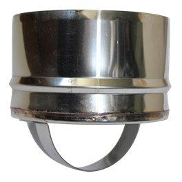 Bouchon de condensation simple paroi inox femelle - Ø 200