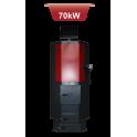 Générateur d'air chaud à bois Defro NP 70 kW