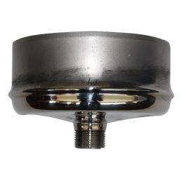 Bouchon de condensation double paroi - Ø int/ext: 100-150