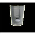 Prélèvement température des fumées et thermomètre simple paroi Inox - Diamètre 200
