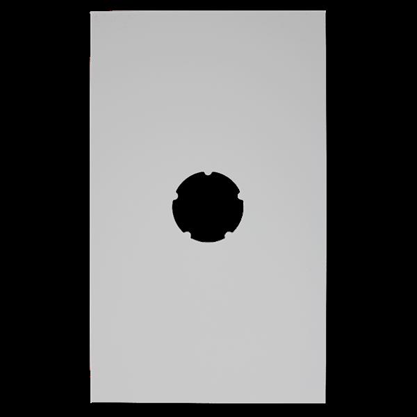 plaque de finition plafond blanche 500x300mm 80. Black Bedroom Furniture Sets. Home Design Ideas