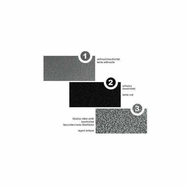 plaque de sol forme f en m tal anthracite 1000 x 1200 mm. Black Bedroom Furniture Sets. Home Design Ideas