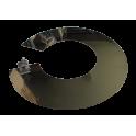 Collet anti-intempérie inox - Diamètre: 130 mm