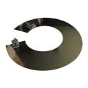 Collet anti-intempérie inox - Diamètre: 230 mm