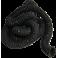 Flexible noir Ø 50 mm résistant jusqu'à 100°C - vendu au mètre