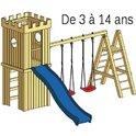 Structure de jeu en bois Arthur v.2