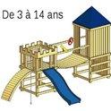 Structure de jeu en bois Arthur v.4
