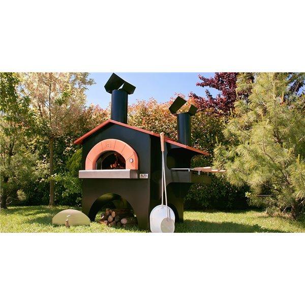 four pizza avec barbecue fiesta barbecue. Black Bedroom Furniture Sets. Home Design Ideas