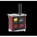 Cuisinière à bois hydro Ilaria 703 T-IL Céramique rouge