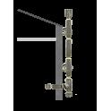 Kit création conduit isolé Ø80mm extérieur - 3m
