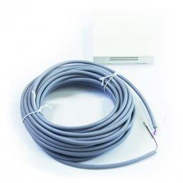 Sonde de température ambiante avec câble - 8 m - pour poêle Haas+Sohn