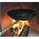 Poêle en fonte pour barbecue DN 800