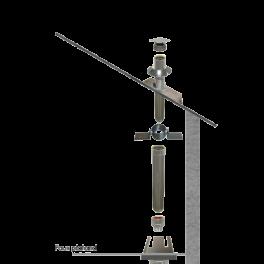 Kit création conduit isolé Ø80mm intérieur- 2m