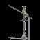 Kit de création de conduit isolé double paroi inox - Diamètre: 80 mm