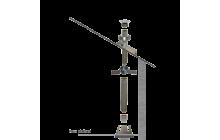 Kit création conduit isolé Ø150mm intérieur - 2m - Remplace 86011115001