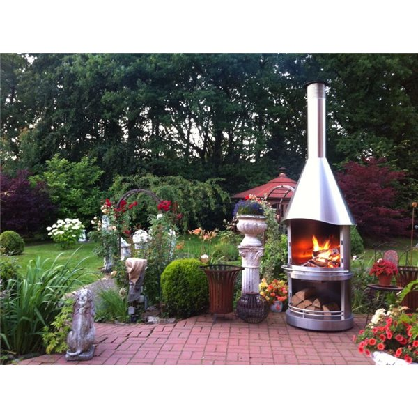 chemin e d 39 ext rieur barbecue las vegas 800 e inox. Black Bedroom Furniture Sets. Home Design Ideas