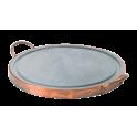 Plaque de cuisson ronde en pierre ollaire 40cm
