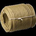 Corde de ramonage - Diamètre : 9 mm - Longueur 100 m