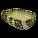 Panier à bûches en osier - 40 x 35 x 16 cm